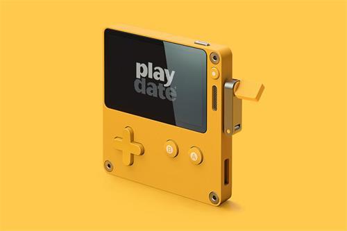"""""""游戏介绍:Firewatch出版商的Playdate游戏手持设备有一个曲柄"""
