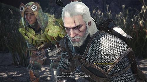 游戏体验:怪物猎人世界的巫师交叉终于在PC上