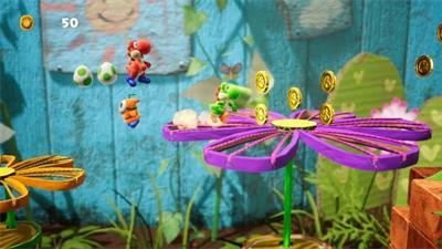 """""""游戏秘籍:Yoshi的Crafted World在英国排行榜上名列榜首"""