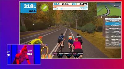 """""""手机评测:骑自行车在Zwift eRacing冠军赛中进入电子竞技赛"""