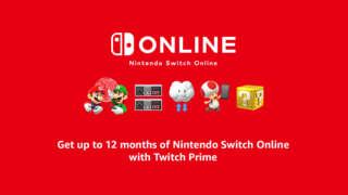 """""""游戏推荐:使用Twitch Prime获得免费的12个月Nintendo Switch在线订阅"""