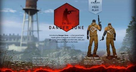"""游戏体验:《CS GO》将推出全新大逃杀模式""""危险地带"""" 且游戏改为免费运营"""