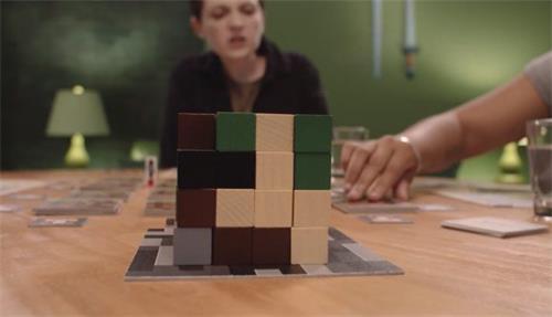 """""""游戏攻略:使用我的世界:建造者与生物群落桌游在桌面上构建"""